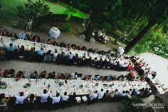 Outdoor Wedding party #barbaradicretico #photography #wedding #italy