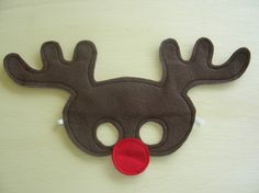 Child Reindeer Mask by Mahalo on Etsy, $14.00