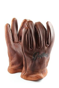 Grifter Scoundrel American Bison Gloves