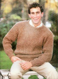 "mens fishermans rib sweater knitting pattern pdf mens ribbed jumper 36-42"" aran worsted 10ply mens knitting patterns pdf instant download by Hobohooks on Etsy"