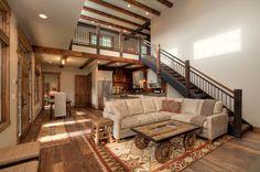 Descubra fotos de Salas de estar rústicas por Uptic Studios. Encontre em fotos as melhores ideias e inspirações para criar a sua casa perfeita.