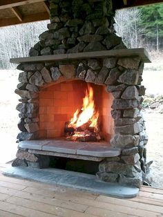 90 top Choices Backyard Fireplace Design Ideas - How to Build A Multi Purpose Fire Pit for Your Backyard some Outdoor Inspiration Outside Fireplace, Fireplace Set, Backyard Fireplace, Fireplace Ideas, Custom Fireplace, Outdoor Rooms, Outdoor Living, Outdoor Fireplace Designs, Outdoor Fireplaces