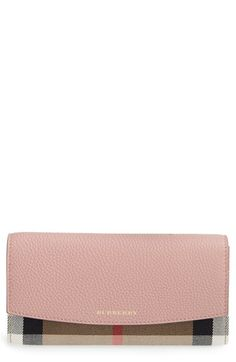 Burberry 'Porter' Continental Wallet available at #Nordstrom
