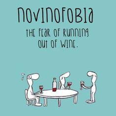 Novinofobia - realistinen pelko että viini loppuu Words, Instagram Posts, Phobias, Horse