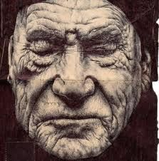 mark powell   works on old envelopes with a Bic pen!  Just incredible and beautiful!!