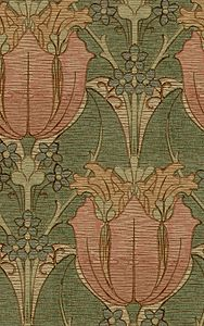 Canterbury - Arts and Crafts wallpaper - late 19th century.
