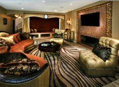 Living Room Design by Shawn Penoyer Atlanta - Los Angeles - Miami