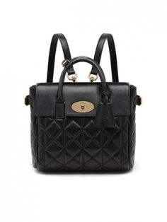 Mulberry Cara Delevingne Quilted Nappa Bag