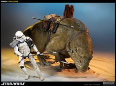Crossing the Desert Sands on a Dewback