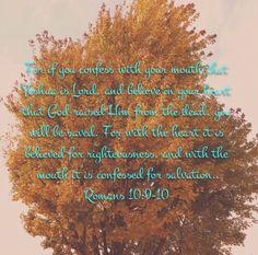 Romans 10:9-10 TLV  Tree of Life Bible