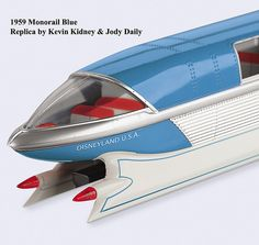 1959 Blue Monorail.  I was six years old, but I remember riding it.