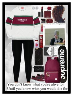"""What you're alive for"" by the-after-party on Polyvore featuring Vans, Jewels by Viggi, tarte, Lipstick Queen, Victoria's Secret, Herschel Supply Co., Aspinal of London and Essie"