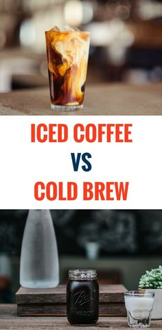 What are the main differences between cold brew and iced coffee? The answer to that really depends on how you like your coffee. If you prefer a more refined chilled coffee experience, a good cold brew can offer all the complexity of specialty coffee witho