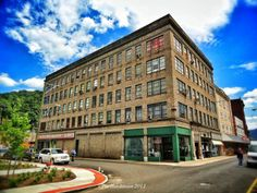 """The old G.C. Murphy (""""The Dime Store"""") and the White  Browning building downtown Logan, WV. (photo by: Pat Hutchinson)."""