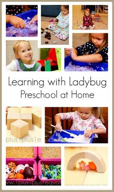 #Preschool at Home from @{1plus1plus1} Carisa