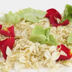 Christmas natural petal confetti