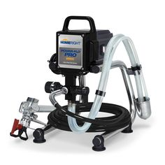 The HomeRight Power-Flo Pro 2800 Airless Paint Sprayer sprays 24 gal. It offers user friendly controls to select desired spray pressure. It comes with professional grade metal spray gun with in-handle filter. Paint Sprayer Reviews, Hvlp Paint Sprayer, Best Paint Sprayer, Paint Sprayers, Spray Hose, Thing 1, Recycling Programs, Cool Paintings, Room Paint