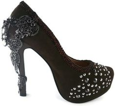 Gorgeous Brown Steampunk High Heels Available at fizzlecrankemporium.co.uk