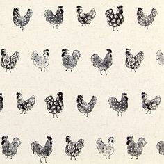 Conversational Design Chicken fabric for bread basket liner and table napkins Fabric Decor, Fabric Design, Farmhouse Fabric, Sewing Circles, Textile Patterns, Textiles, Pretty Patterns, Fabulous Fabrics, Love Sewing