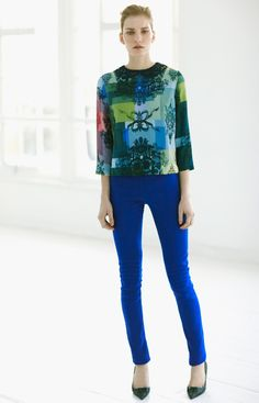 Preen Pre-Fall 2012 - Review - Fashion Week - Runway, Fashion Shows and Collections - Vogue