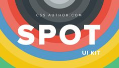 Spot UI Kit PSD CSS Author