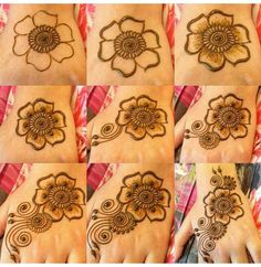 Fails art step by step mandala 28 Trendy Ideas Henna For Beginners, Mehndi Designs For Beginners, Unique Mehndi Designs, Mehndi Designs For Fingers, Mehndi Design Images, Beautiful Mehndi Design, Simple Mehndi Designs, Simple Henna Tattoo, Henna Tattoo Designs