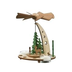 cool Dregeno natural wood pyramid - Forest sceneAlexander Taron Home Seasonal D Check more at http://christmasshortstory.com/product/dregeno-natural-wood-pyramid-forest-scene/