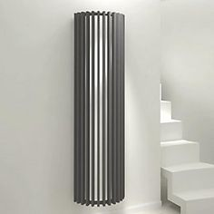 600x1440mm gloss white single panel oval tube horizontal radiator, Deco ideeën