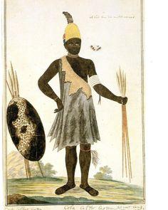 a chief of the Gqunukhwebe tribe by Robert Jacob Gordon Tribal Chief, Xhosa, Arabian Nights, Andalusia, Zulu, African Art, Kobe, Art History, Wall Art