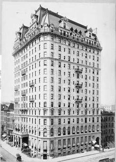 Daytonian in Manhattan: The Lost Hotel Manhatltan -- Madison Ave and 42nd Street