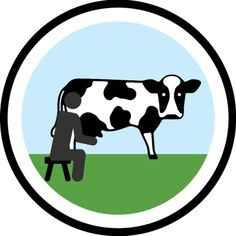 Lifescouts: Cow-Milking Badge Back when we still had a house in a seaside resort we would always drive to the tambo and I got to milk cows and feed the calf Swedish Language, Korean Language, Alex Day, La County Fair, Mandarin Language, Scout Badges, Thing 1, Ferrari Logo, My Cousin