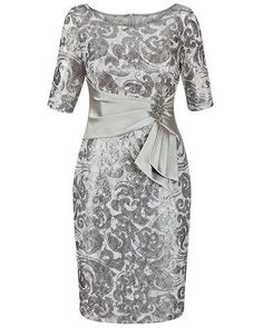 This is gorgeous!!!!!! That is exactly what I want - just a little fuller skirt Mother of the Bride dress - Anthea Crawford