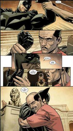 Batman retains his sanity bcuz Alfred is his hero. Math Comics, Marvel Dc Comics, Marvel Vs, Marvel Funny, Batman Y Superman, Batman Robin, Batman Art, Spiderman, Batman Universe