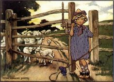 Jessie Willcox Smith mother goose - Google Search