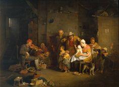 The Blind Fiddler (1806). Sir David Wilkie (Scottish,...