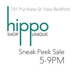 Tonight shop an exclusive sneak peek sale at @shopathippo on Purchase St. in New Bedford. You can see our Fall Collection of eco-chic stud earrings along with other great local brands #shopsmall #ecochic #shoplocal