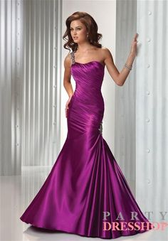 A-line one shoulder purple satin long prom Dress EVD233 www.partydresshop.com offer cheap prom dresses 2012, Evening gowns 2012, Cocktail Dresses 2012,Homecoming Dresses 2012, Quinceanera Dresses and Celebrity Dresses ,buy 2012 prom dresses  www.partydresshop.com $175.00 (USD)