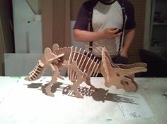 visit www.makeCNC.com to purchase this pattern Triceratops