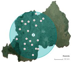 Auslieferungsgebiet der Zipline-Drohnen (Bild: Zipline)