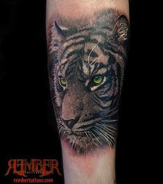 realistic tiger tattoo - Google Search