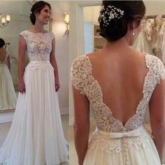 Yes or no to this dress?? Simple and classic always works  Dress: Wanda Borges  For more amazing wedding inspiration follow:  @weddingofdreams ♡  @weddingofdreams ♡  @weddingofdreams ♡  @weddingofdreams ♡
