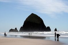 Cannon Beach, Oregon.  Many happy memories....