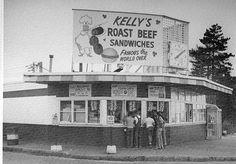 Vintage Kelly's Roast Beef on Revere Beach
