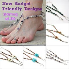 eb7e41bb08e1 Enjoy summer s hottest fashion trends without breaking the bank! Shop my  new handmade barefoot sandal