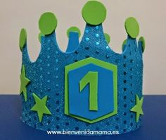 Tutorial corona de cumpleaños