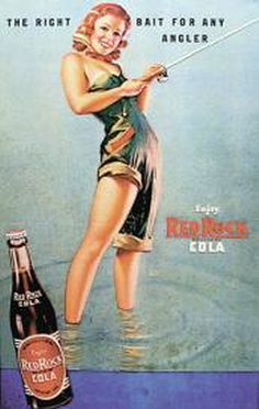 Women Fishing Michigan Vintage Red Rock Cola Ad by UpNorth Memories - Donald (Don) Harrison, via Flickr