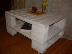 table basse blanche on pinterest coffee tables table. Black Bedroom Furniture Sets. Home Design Ideas