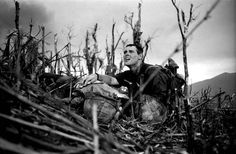 US Marine Vernon Wike, with his dead comrad. Battle for Hill 881, Vietnam 1967. (Catherine Leroy)