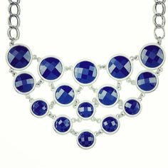 If #spring2014 is all about #nautical, then this #navy #necklace screams ahoy! #liasophia #jewelry