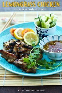Grilled Lemongrass Chicken   Easy Japanese Recipes at JustOneCookbook.com